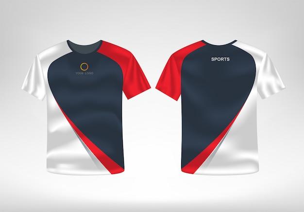 Sport t shirt entwurfsvorlage