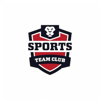 Sport team club logo-konzept