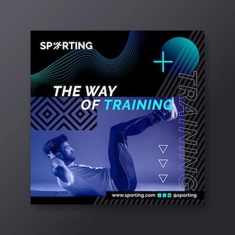 Sport & tech flyer platz