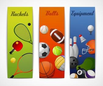 Sport vertikale Banner
