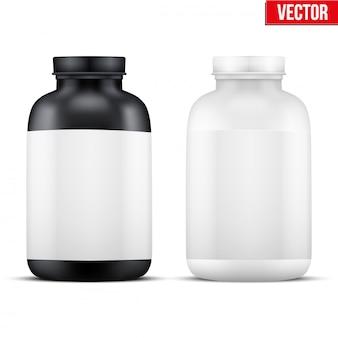 Sport vitamin behälter.