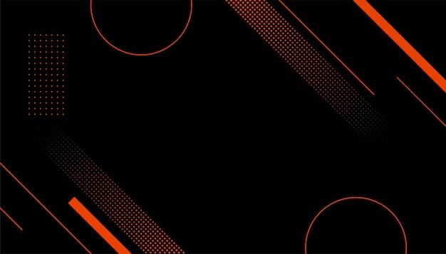 Sportart halbton memphis schwarzer hintergrund