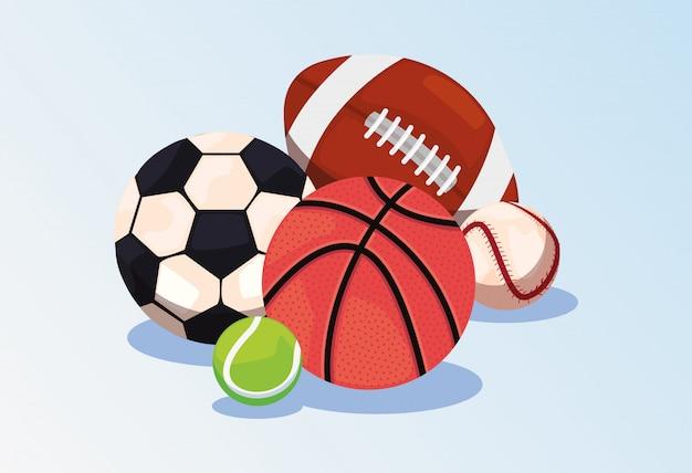 Sportbälle ausrüstung