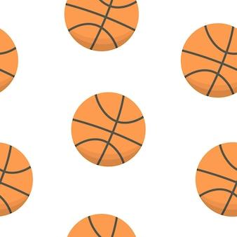 Sportdesign. basketballbälle muster.