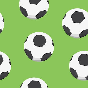 Sportdesign. fußball-muster.