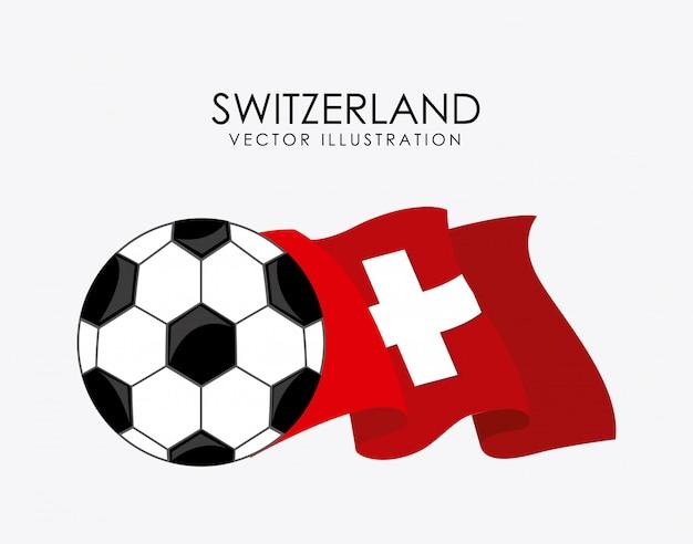 Sportdesign über weißer hintergrundvektorillustration