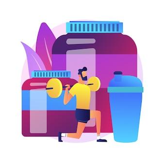 Sporternährung. diät zur verbesserung der sportlichen leistung. vitamine, proteine, nahrungsergänzungsmittel. kraftsport, gewichtheben, bodybuilding.