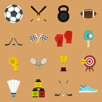 Sportgeräte symbole festgelegt