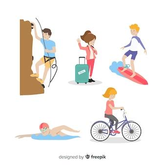 Sportliche Aktivitäten
