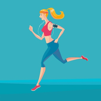 Sportlicher jogger