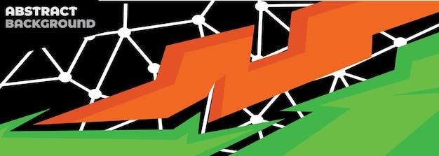 Sportwagen-abziehbild abstrakten geometrischen stil