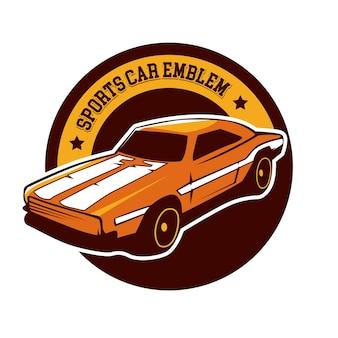 Sportwagen-emblem