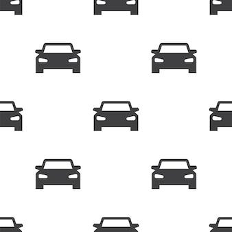 Sportwagen, nahtloses vektormuster, bearbeitbar kann für webseitenhintergründe verwendet werden, musterfüllungen