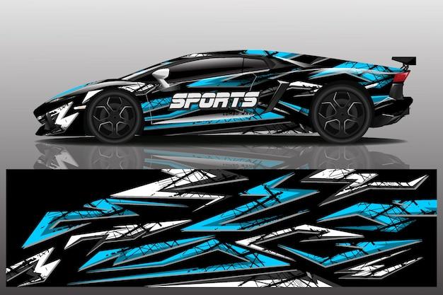 Sportwagen wrap design