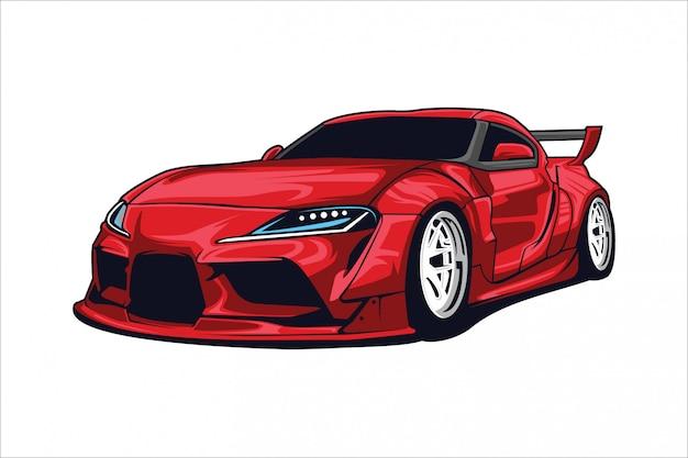 Sportwagenillustration