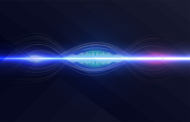 Spracherkennung, equalizer, audiorecorder. mikrofontaste mit schallwelle.