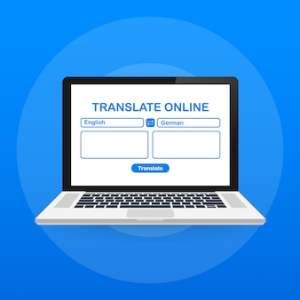 Sprachübersetzung abbildung