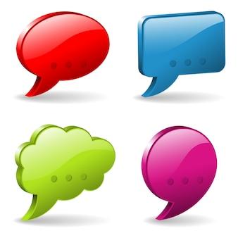 Sprech- und denkblasen