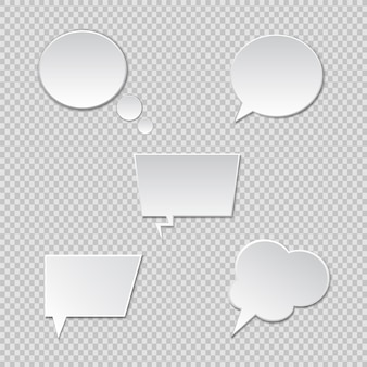 Sprechblasen. vektorsprachebox