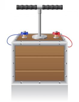 Sprengsicherung vektor-illustration