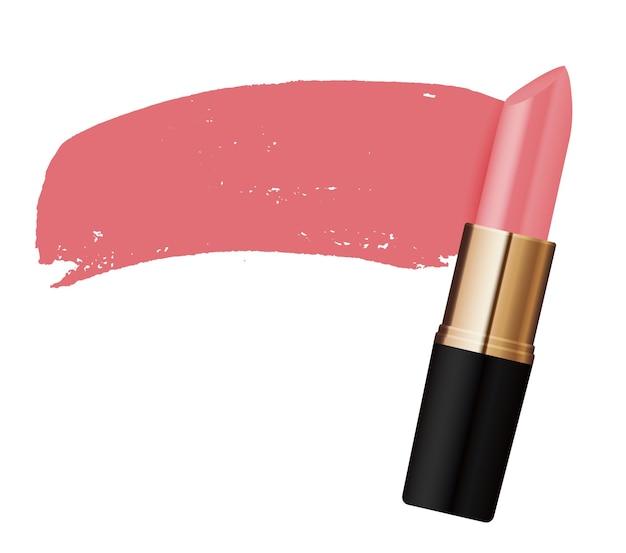 Spritzen sie rosa lippenstift