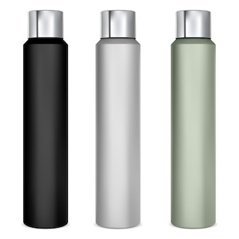 Sprühdose modell aluminium deodorant dose haarspray flasche leer