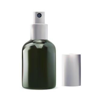 Sprühspender flasche serum kosmetik zerstäuber klare haut kamelien wasserbehälter design