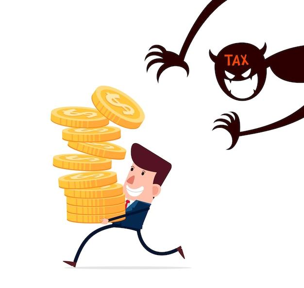 Spuken von steuern