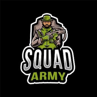 Squad army esport logo