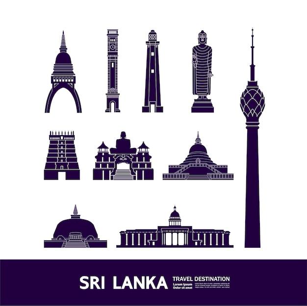 Sri lanka reiseziel großartig