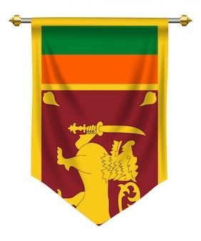 Sri lanka wimpel