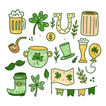 St. patrick day elemente