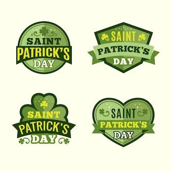 St. patrick day instagram-etiketten