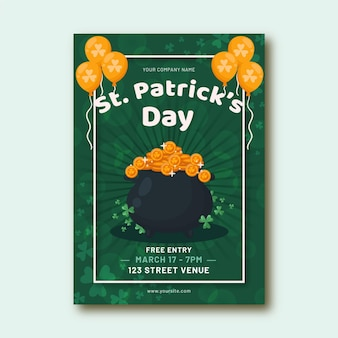 St. patrick day poster