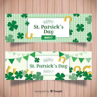 St. patrick's day banner