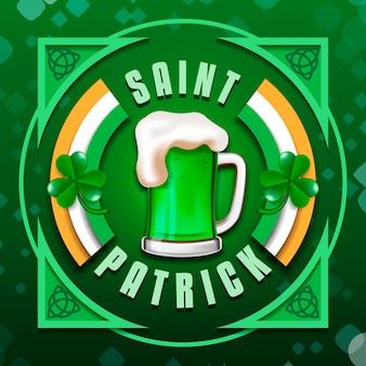 St. patrick's day bier