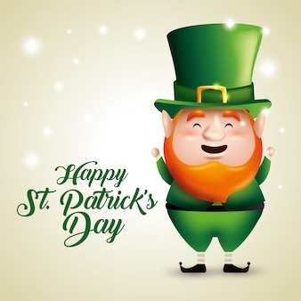 St. patrick's day elf