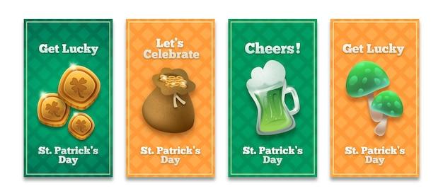 St. patrick's day geschichten gesetzt