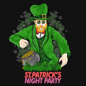 St.patrick's day illustration