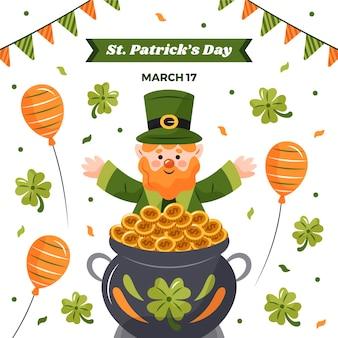 St. patrick's day illustriert
