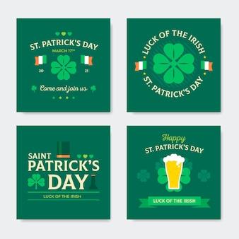 St. patrick's day instagram beiträge sammlung
