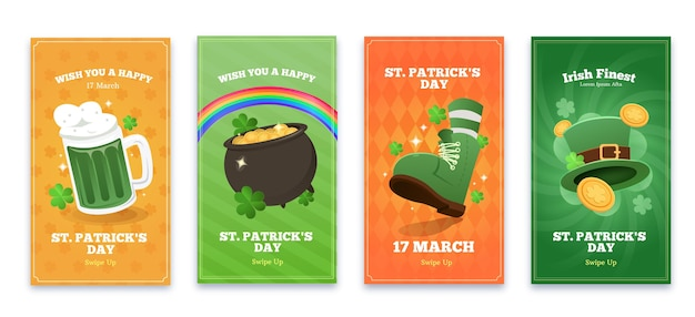 St. patrick's day instagram geschichten