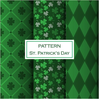St. patrick's day mustersatz