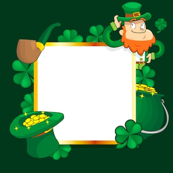 St. patrick's day template design