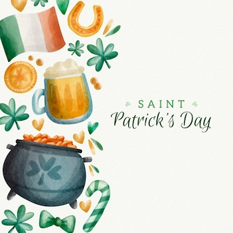 St. patrick's day traditionelles ereignis
