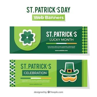 St. patrick's day web-banner