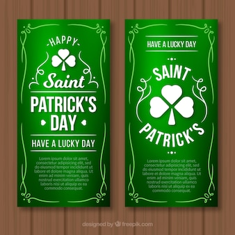 St. patrick's day web-banner