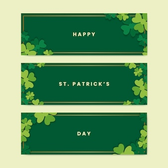 St. patricks day banner