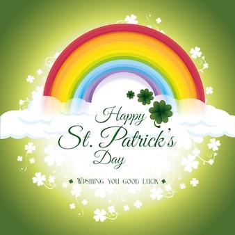 St. patricks day card design