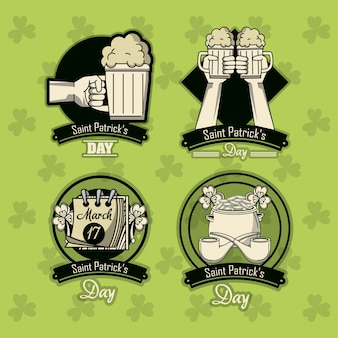 St. patricks day embleme